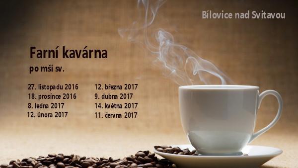 kavárna 2016-17