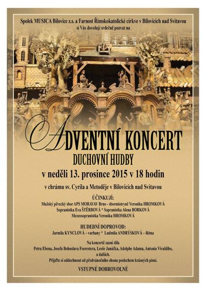 Adventni koncert 2015